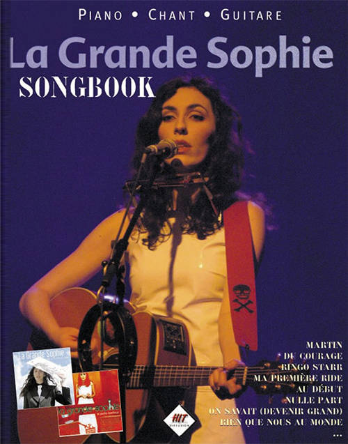 Acheter SongBook : La Grande Sophie (Piano - Chant - Guitare) sur Amazon.fr