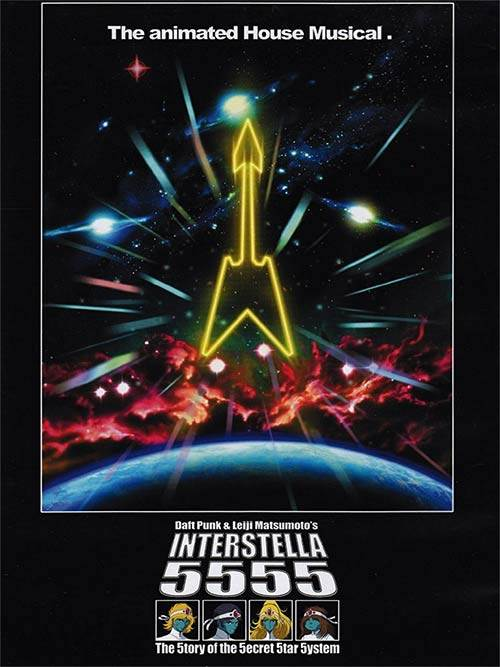 Acheter Daft Punk : Interstella 5555 sur Amazon.fr