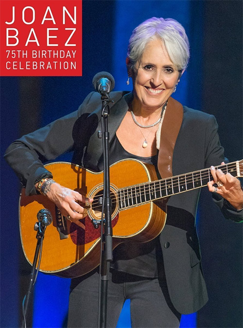 Acheter Joan Baez 75th Birthday Celebration sur Amazon.fr